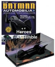 DC Batman Automobilia Collection #25 Legends Of The Dark Knight #15 Batmobile Eaglemoss